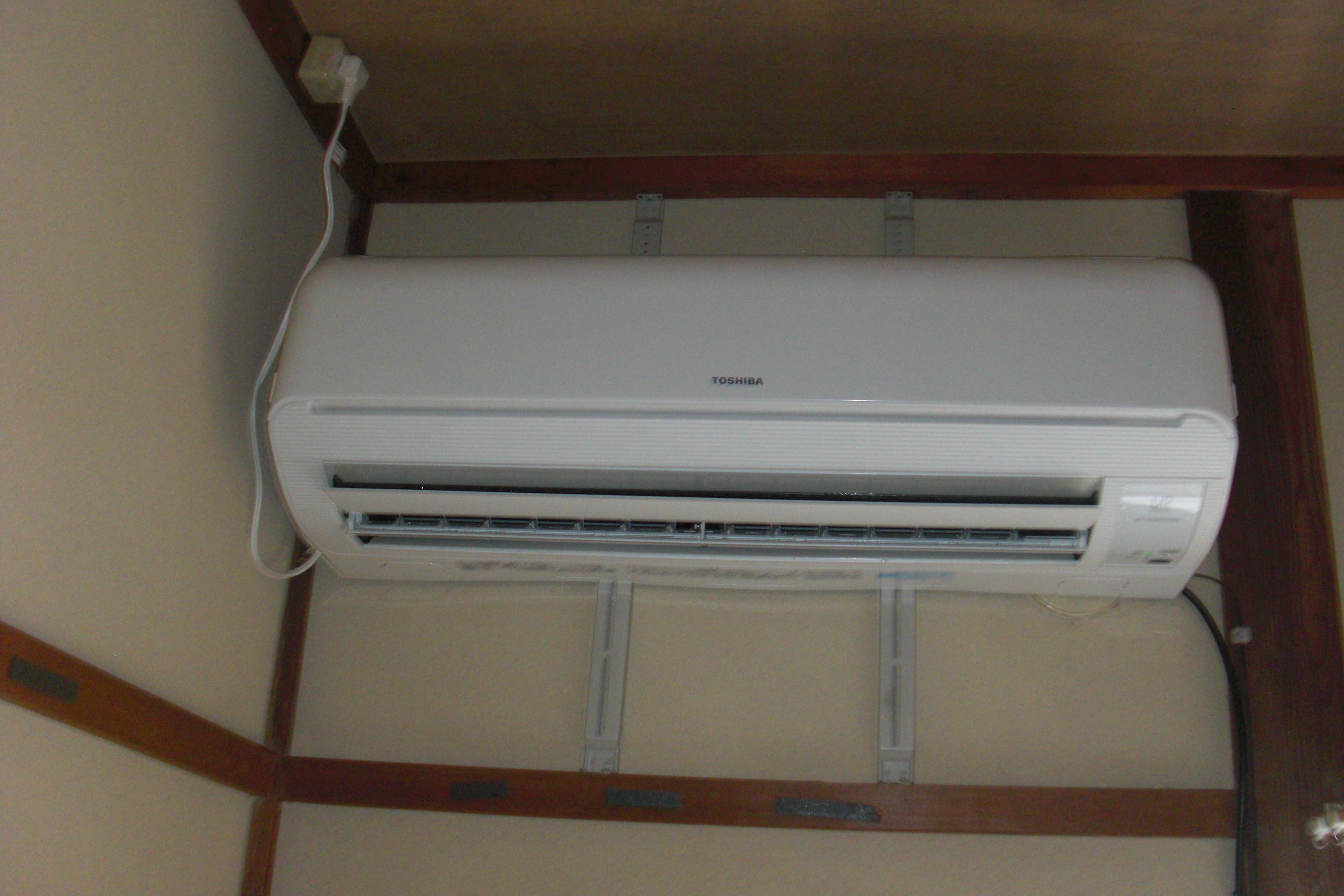 エアコン自動お掃除機能付きクリーニング