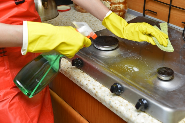 システムキッチンのクリーニング方法