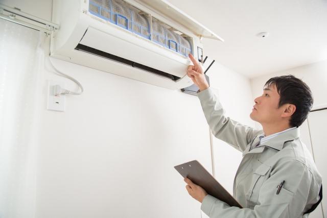 エアコン設置場所の移設 確認箇所