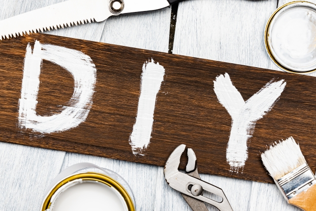 DIY 目的と素材に合わせた工具の使い方