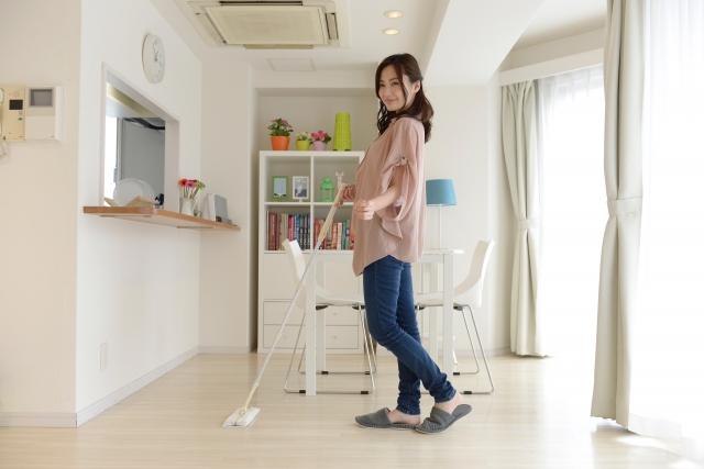家事代行、床フローリング掃除の極意